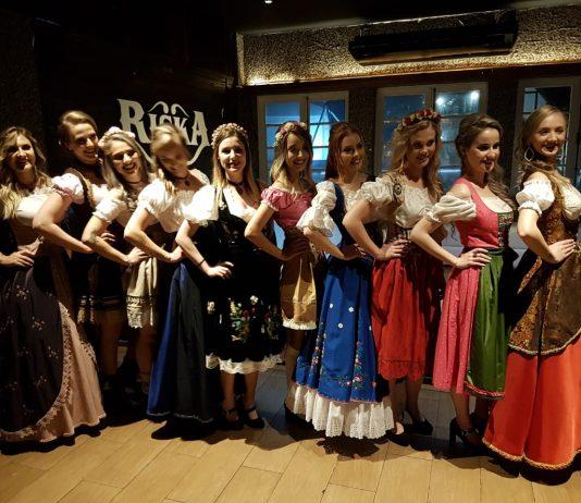 Conheça as candidatas finalistas do concurso Rainha da Oktoberfest