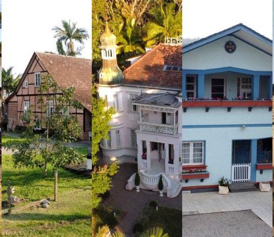 Casarões: série de webdocumentários conta a história de 5 casas icônicas de Blumenau